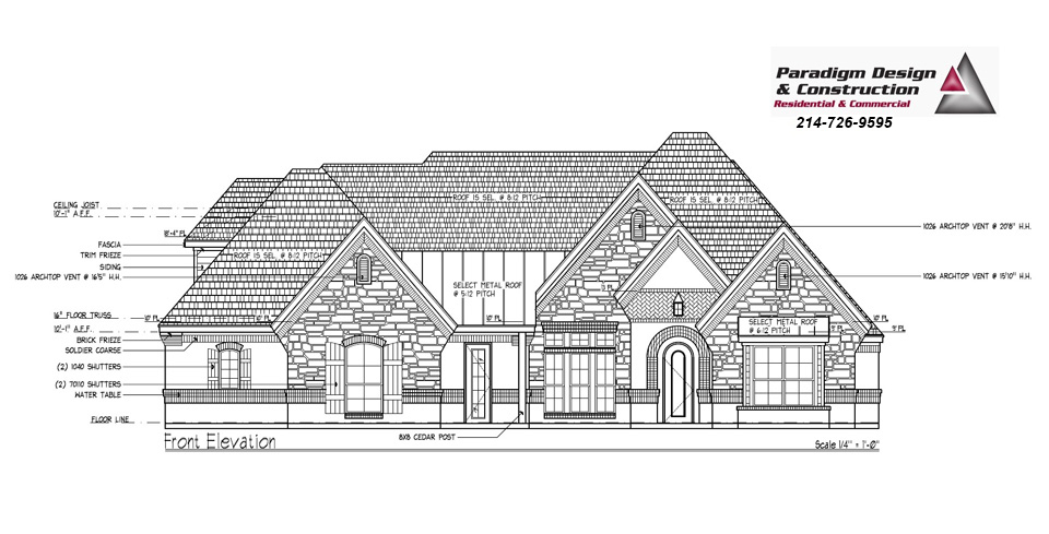 Residential Builders Dallas TX-Home Contracting-Architectural Design