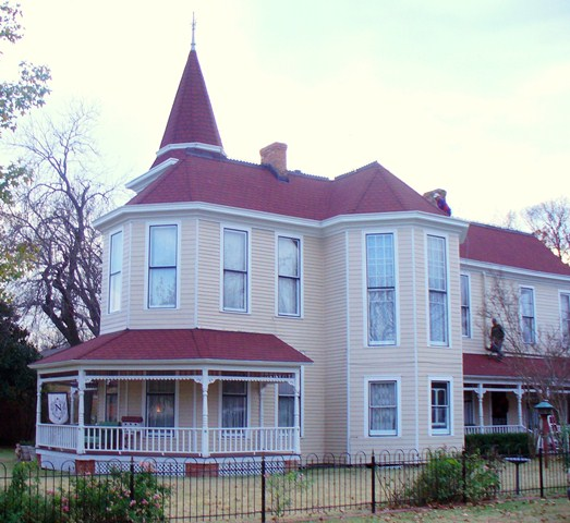 Historical home restored McKinney TX